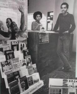 Judy Richardson and Tony Gittens, 1968-Photo by Washington Post